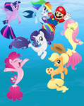 Mario and the Seaponies by user15432