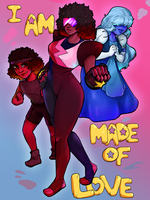 We are made of Love by Konneh