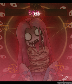 .:Satanic Distorted:. by The-Butcher-X