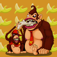 Donk-E Kong by LustrousFerret