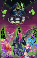Arcade League of Legends by Winged-warrior
