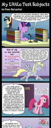 My Little Test Subjects by Pony-Berserker