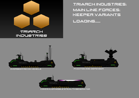 Triarch Keeper Vehicles by EmperorMyric