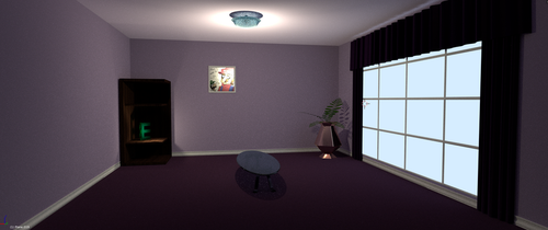 3D Room Model WIP by EmperorWalrusArchive