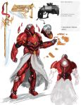 Slayde/Sect Armored Shell and weaponry MK.3 by Michael-Galefire