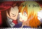 Alucard x Seras Stamp by GoldenGirl954