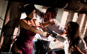 RE4 - zombie attack by yayacosplay