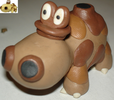 Clay Pokemon - Hippopotas