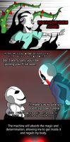 Undertale New world (page 100) by joselyn565