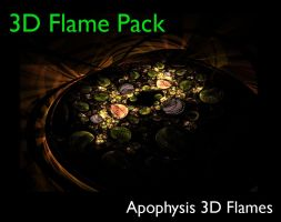 3D Flame Pack by mfcreative