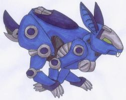 Zoid Rabbit by Scatha-the-Worm