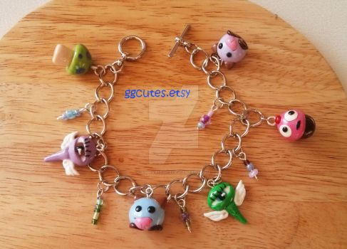 League of Legends Charm Bracelet by ambivalenc3