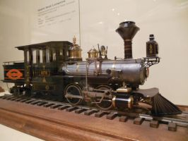 Mason Bogie Tank Engine Scale Model by rlkitterman