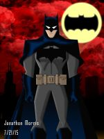 BvS Batman Animated Style by JAM4077