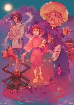 Spirited Away +Always With Me+ by Barukurii