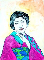 Japanese Girl 1900s by ZombieBaby
