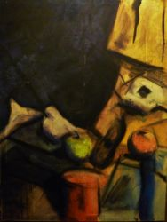 Max Beckmann Inspired Still Life by AshyMashy