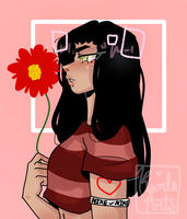 A flower for your loss because youve lost me by KarlaArts