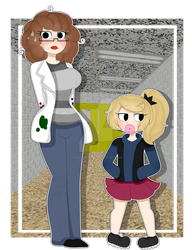 .-(BBIMAPP AU version) Cristina and Speedy-. by Ink-Mermaid