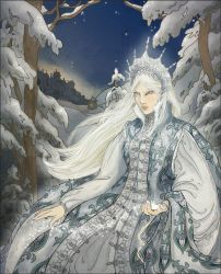 Queen of Frost and Darkness 2 by janey-jane