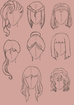 Hair exercise by loveblack