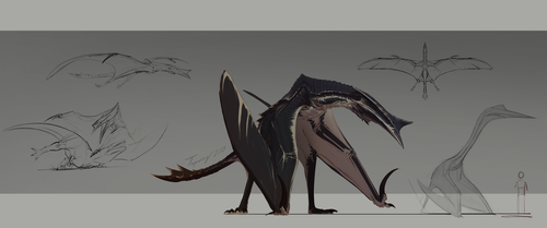 Hyperendocrin quetzalcoatlus V3 by Tapwing