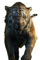 Disney's Shere Khan - Transparent Background! by Camo-Flauge