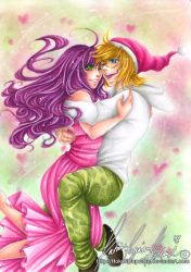 :.MixDream commission - In your arms.: