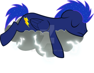 Night Thunder - Sleeping by abydos91