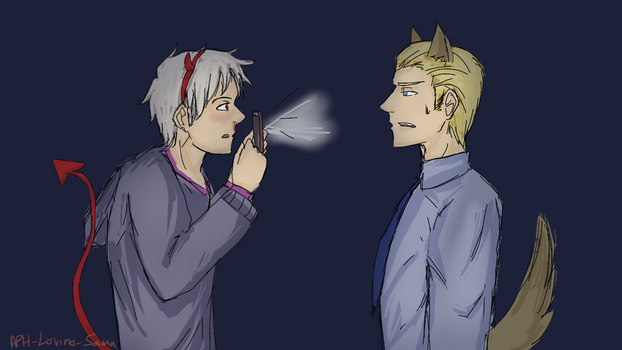 I'm too old for this sh*t, bruder. by APH-Lovino-sama