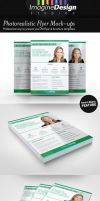 Photorealistic Flyer Mock-ups by idesignstudio