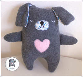 doggie plush by snut