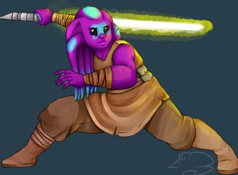 Jedi by AngryDuckTimeMachine