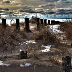 Ludington Shore Line by pierced-elf