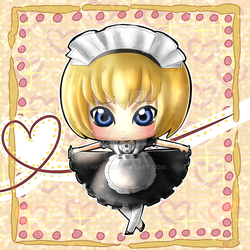 Commission: Moe Maid (C)Armin by nkein