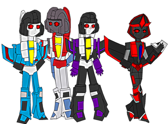 Decepticons: The Seekers by lady-warrior