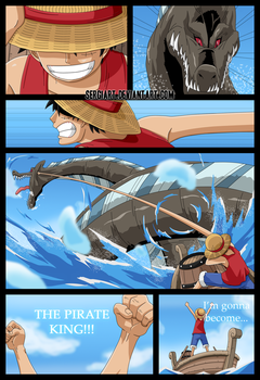 One Piece - The beggining of the great adventure by SergiART