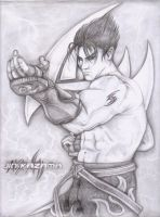 Jin Kazama Pencil by PocketNinja85