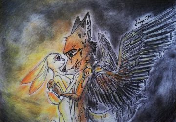 Wildehopps x Icarus and the Sun by Jolyn0710