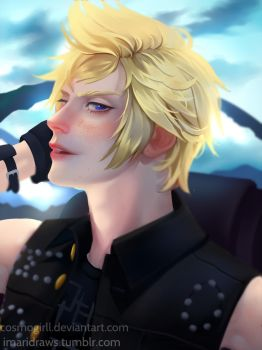 Prompto FFXV by cosmogirll