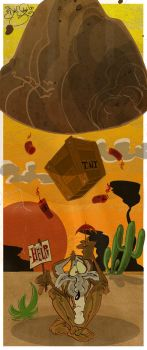 Wile E. Coyote by Themrock