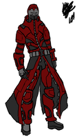 Armored Trenchcoat concept by Kazimaru