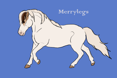 1113 Ain't Nobody Got Time For That - Merrylegs by Happy-Horse-Stable