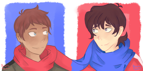 Klance by potatokyukun