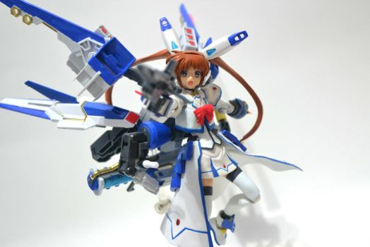 MS Girl Nanoha Excelion: Rifle Mode 02 by gale015