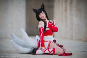 Ahri cosplay! New entry by LyoeItsumi