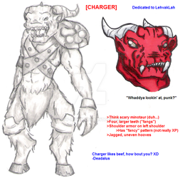 Charger Character Sheet by soy-monk