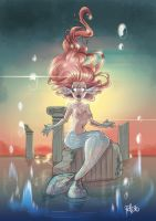 The Mermaid by PocciPocetta