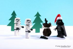 Christmas with the troops by InsaneGelfling
