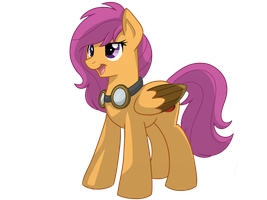 Scootaloo - comic version by ItsTaylor-Made